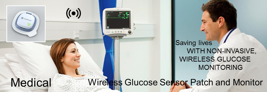 Wireless Glucose Patch and Monitor