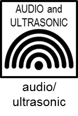 Audio ultrasound